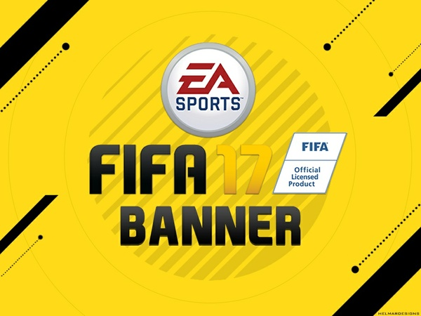 FIFA 17 Banner Template