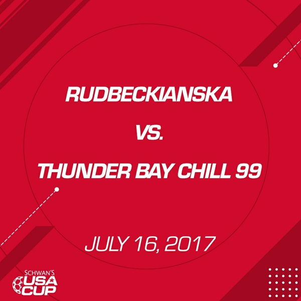 Boys U19 - July 16, 2017 - Rudbeckianska V. Thunder Bay Chill 99