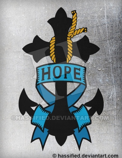 Hope Anchor - printable, vector, svg, art