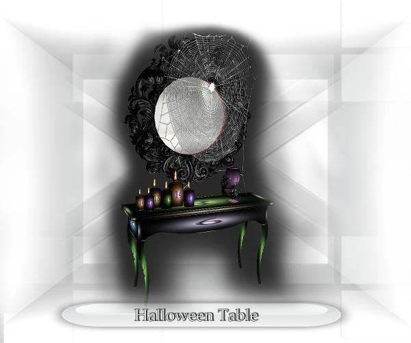 Halloween Baroque Table