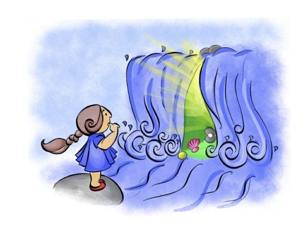 The Magic Waterfall