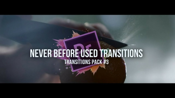 10 Never Before Used Transitions Pack