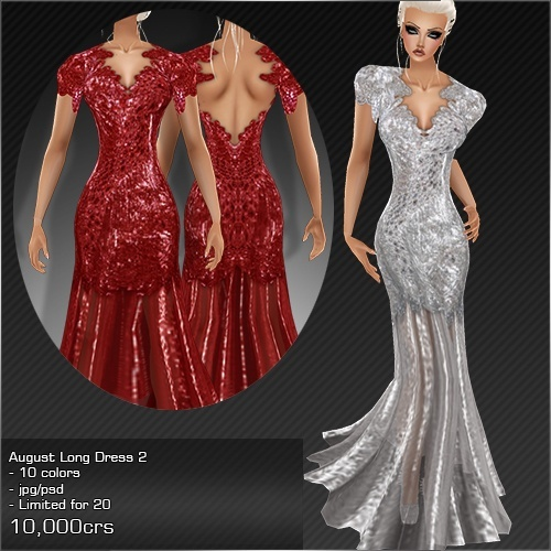 2013 Aug Long Dress # 2