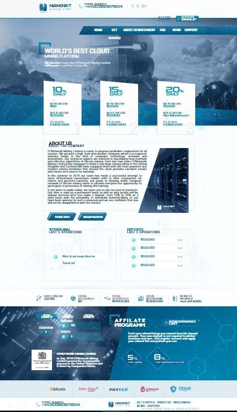 ✮ ✮ GC Hyip Template Premium 1  ✮ ✮ ♕  GoldCoders  ♕