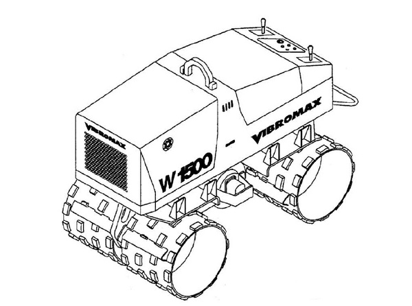 Vibromax W1500 Trench Roller Service Repair Manual Download