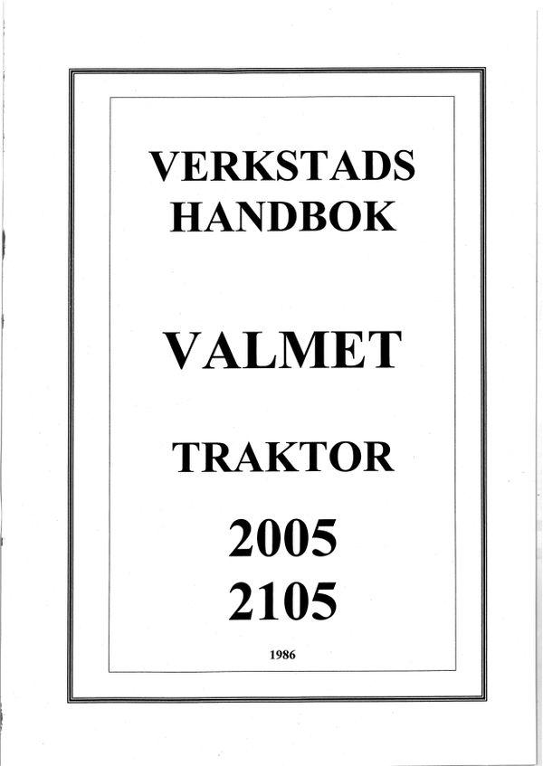 Valmet 2005 2105 - verkstadshandbok - 402 sidor - svenska