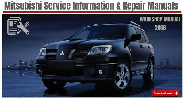 MITSUBISHI OUTLANDER 2006 FACTORY SERVICE MANUAL