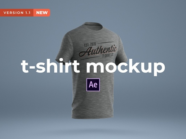 After Effects: T-Shirt Mockup