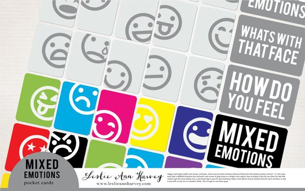 Mixed Emotions - Pocket Cards