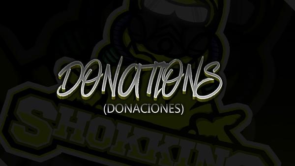 Donations[DONACIONES]
