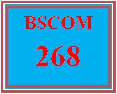 BSCOM 268 Week 2 Mass Media Messages and Effects Topic