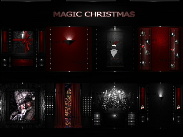 MAGIC CHRISTMAS ..!!! 53Textures 256x256jpg.