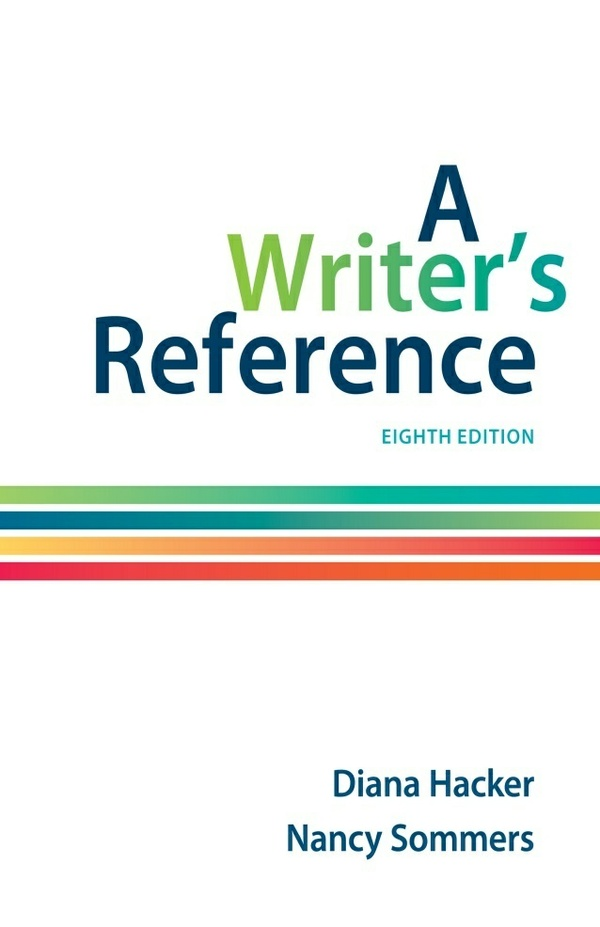 A Writer's Reference 8th Edition PDF