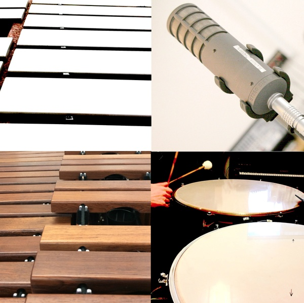Four sessions - 13 tracks - for tuned percussion