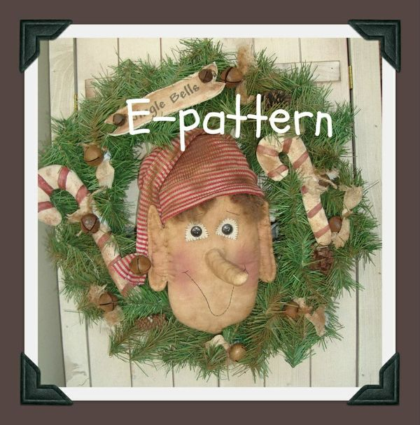 #403 Christmas elf e pattern