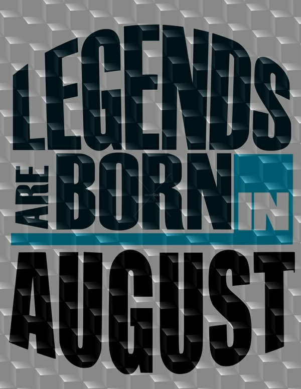 August Birthday SVG, August SVG, Legends are born in August SVG
