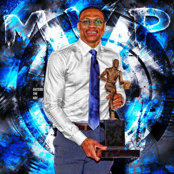 Russell Westbrook MVP PSD