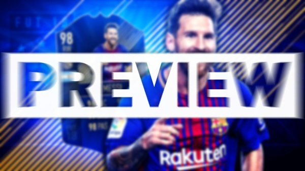 FIFA 18 TEAM OF THE YEAR MESSI THUMBNAIL TEMPLATE