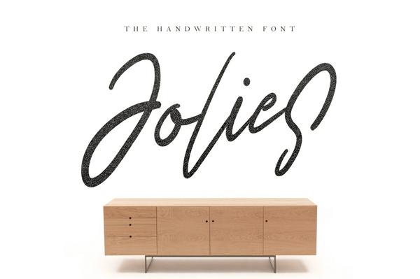 Jolies Typeface