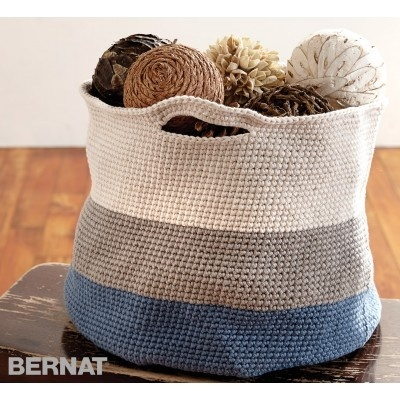 Handy Crochet Basket