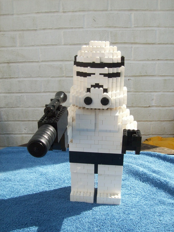 Instructions for Large Lego Star Wars Stormtrooper