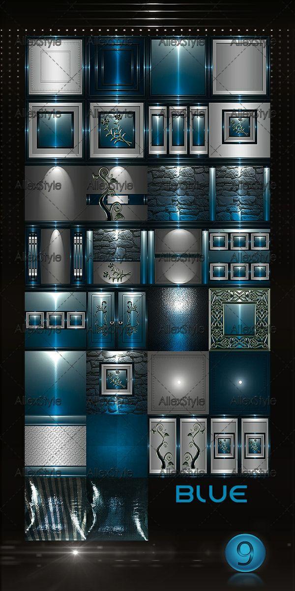IMVU TEXTURES FILE N-9 BLUE