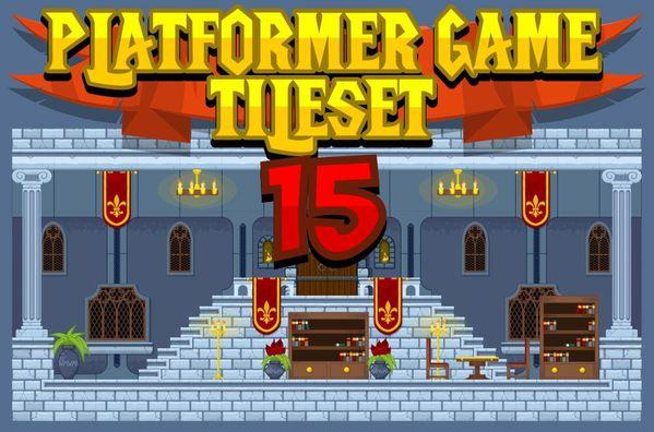 The Castle - Game Tileset