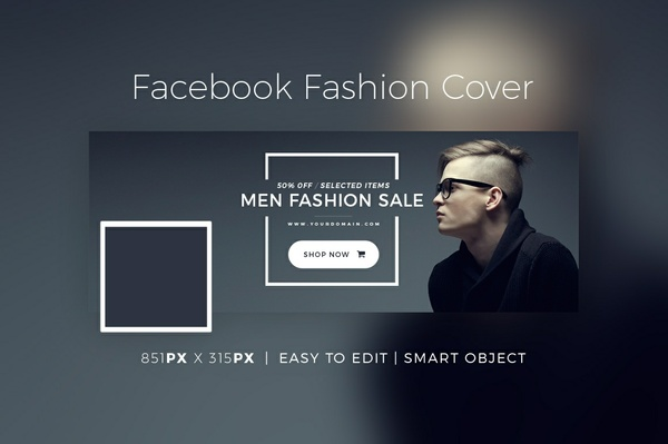 Facebook Fashion Cover & Banner V2