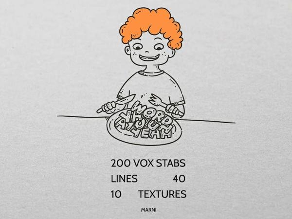 Wisdom Feast 2 - vox stab kit