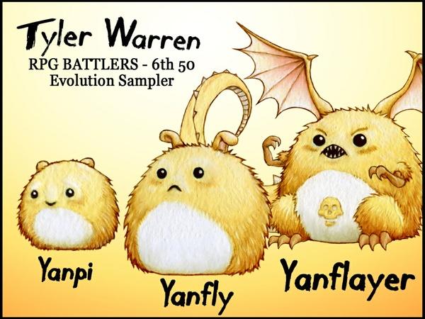 FREE - Tyler Warren RPG Battlers - 6th 50 - Yanfly Evolution Sampler