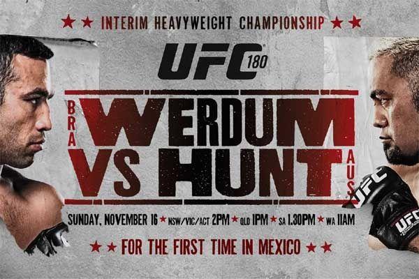 UFC 180: Werdum vs Hunt Paid Betting Tips