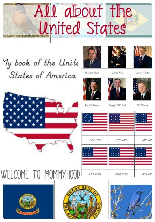 MEGA United States Printables Pack