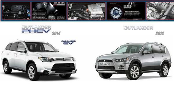 Mitsubishi Outlander 2014 & 2012 Factory Service Manuals