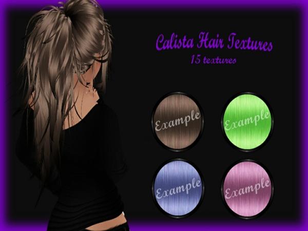 Calista Hair Textures