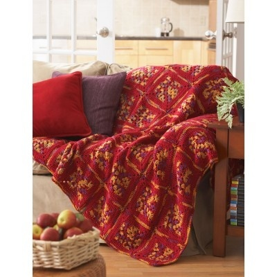 Wildberry & Mustard Throw