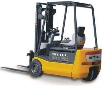 Still Electric Lift Truck R20-15i: 2015 Spare Parts Manual