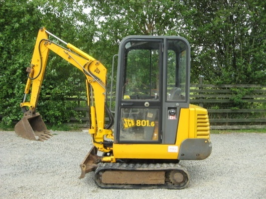 JCB 801.4, 801.5, 801.6 Mini Excavator Service Repair Workshop Manual DOWNLOAD