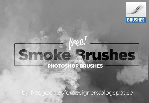 5 SUPER REALISTIC SMOKE BRUSHES FOR PHOTOSHOP