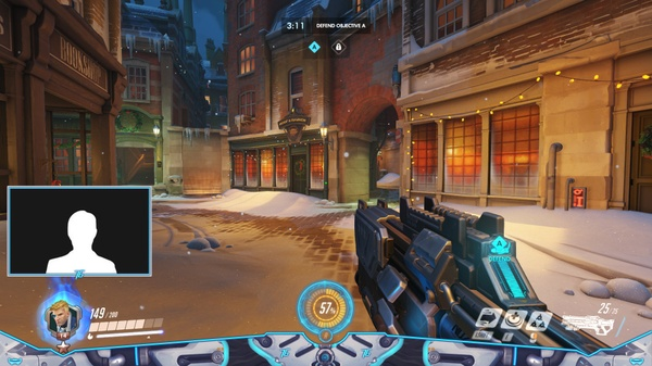 ALPINE SOLDIER 76 - STREAM OVERLAY