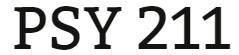 PSY 211 Week 5 Knowledge Check