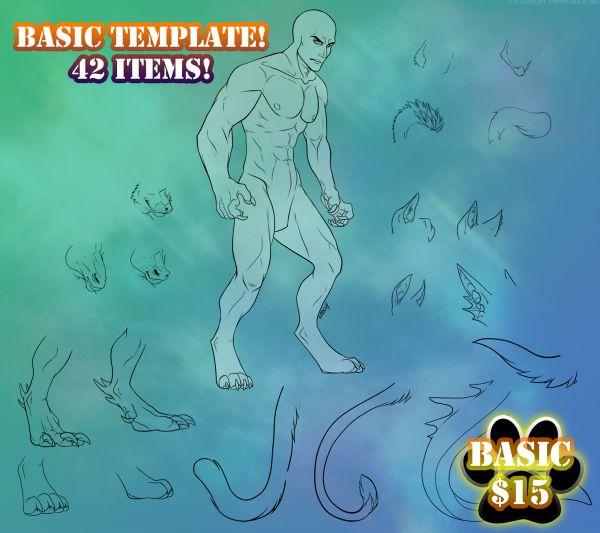 Lineart Template - BASIC