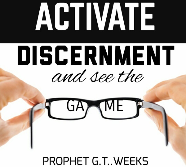 ACTIVATING DISCERNMENT