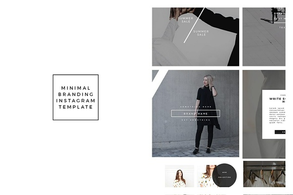Minimal Instagram Template Vol 1