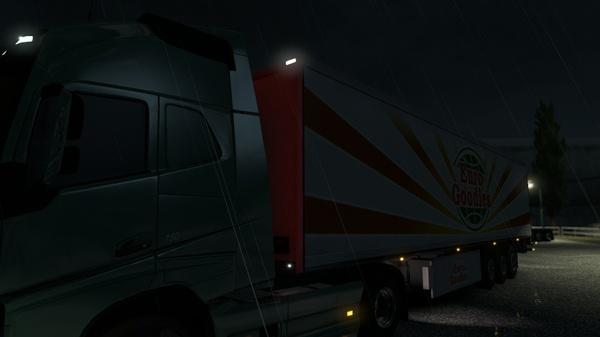 Rear Light Cabin Volvo FH12