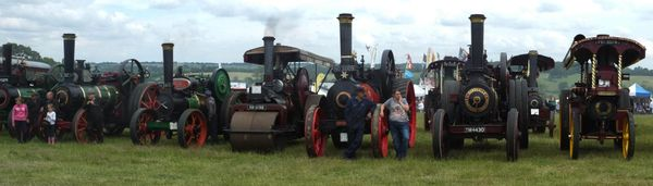 Hollowell steam fair Northants UK