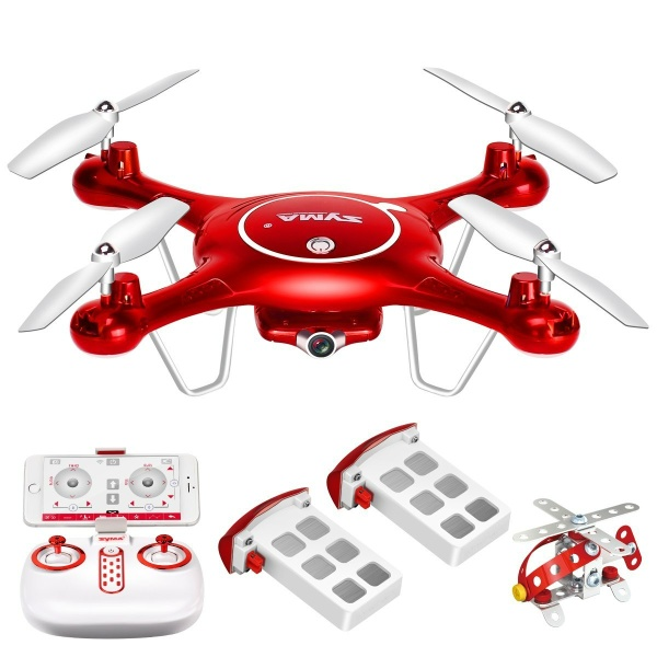 DoDoeleph Syma X5UW WIFI HD CAMERA FPV 720P HD Quadcopter Drone