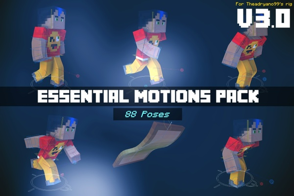 [3.0] Essential Motions Pack - by TheAdryano99