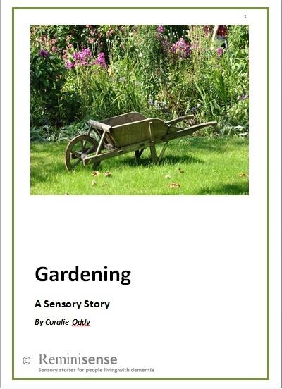 Gardening: A Sensory Story
