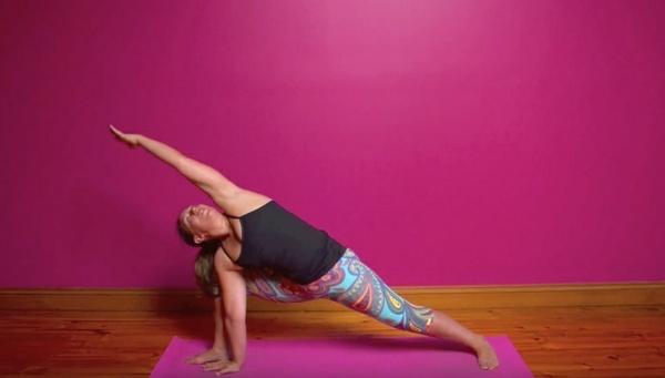 30 minute practice Vinyasa Energy & Lightness