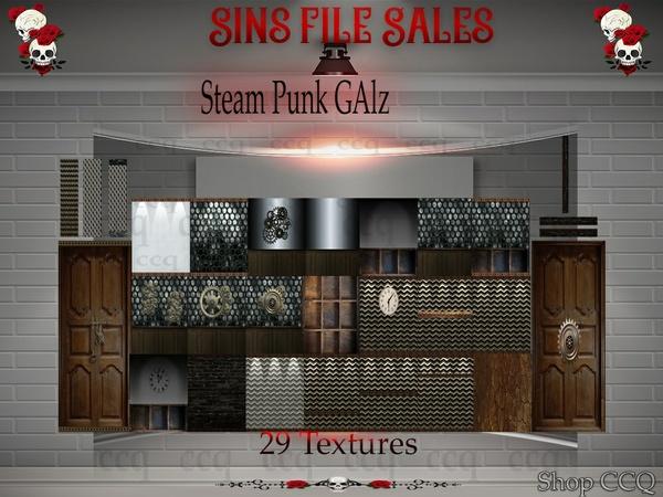 Steampunk Galxz Texture Pack